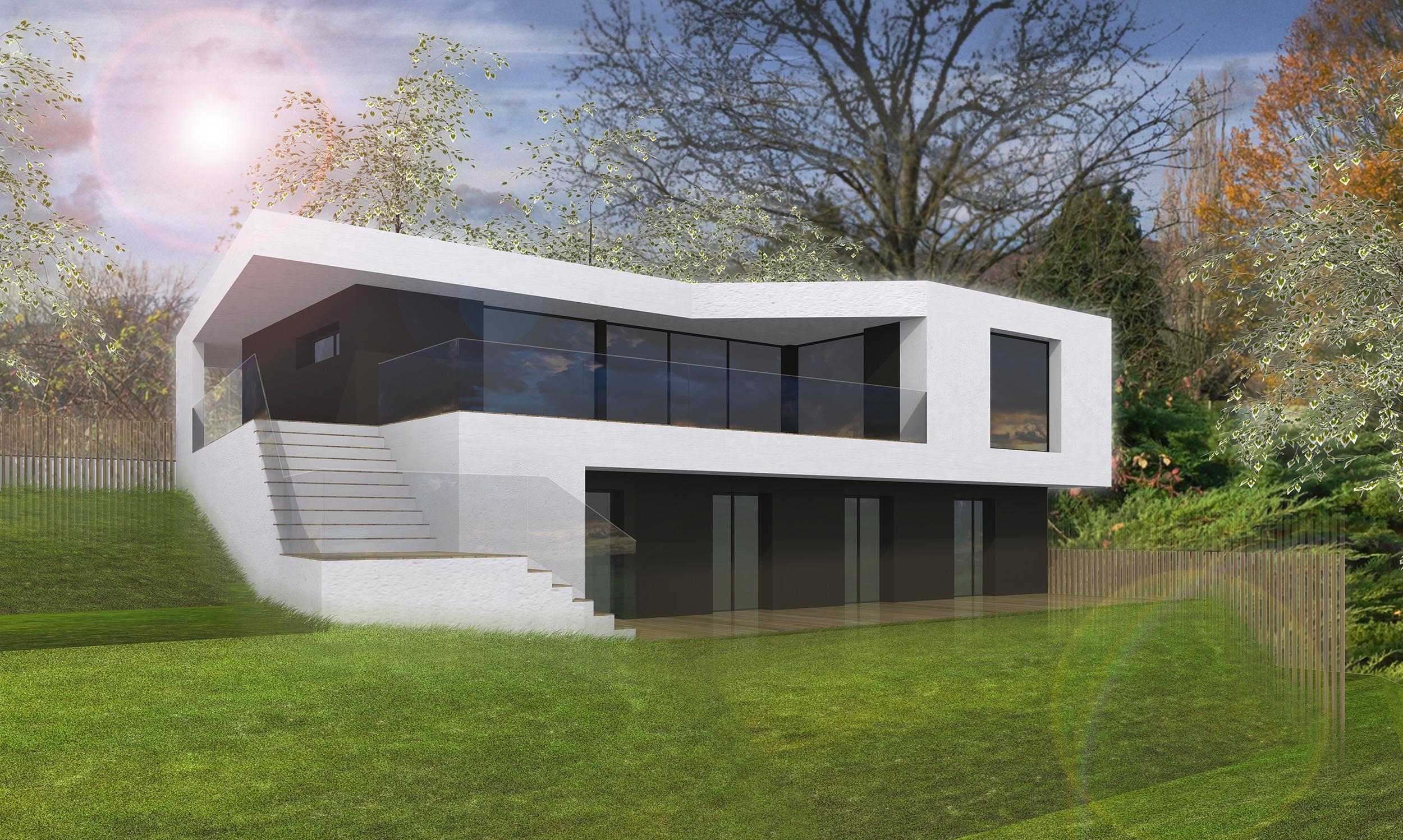 ash architecte maison individuelle mont saint aignan
