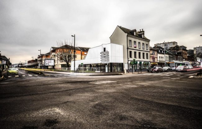 ash architectes local commercial maromme