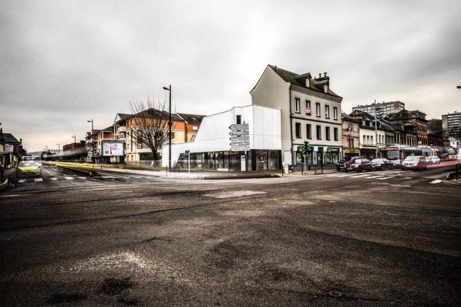 ash architectes local commercial maromme