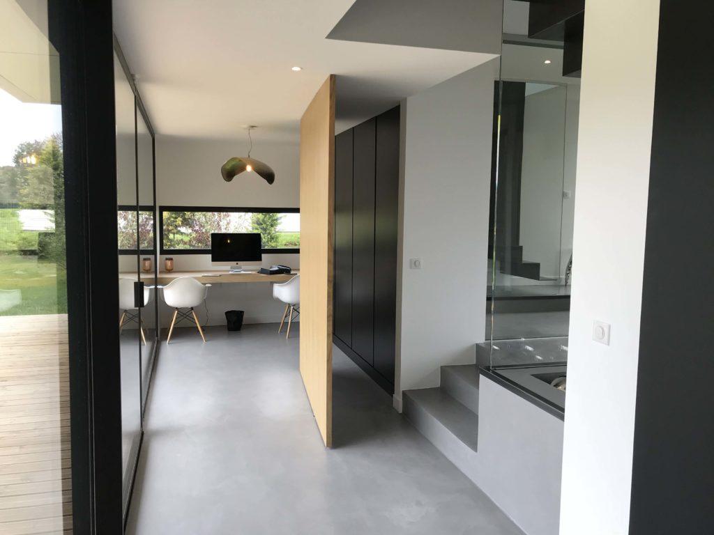 ash architectes maison individuelle aviron