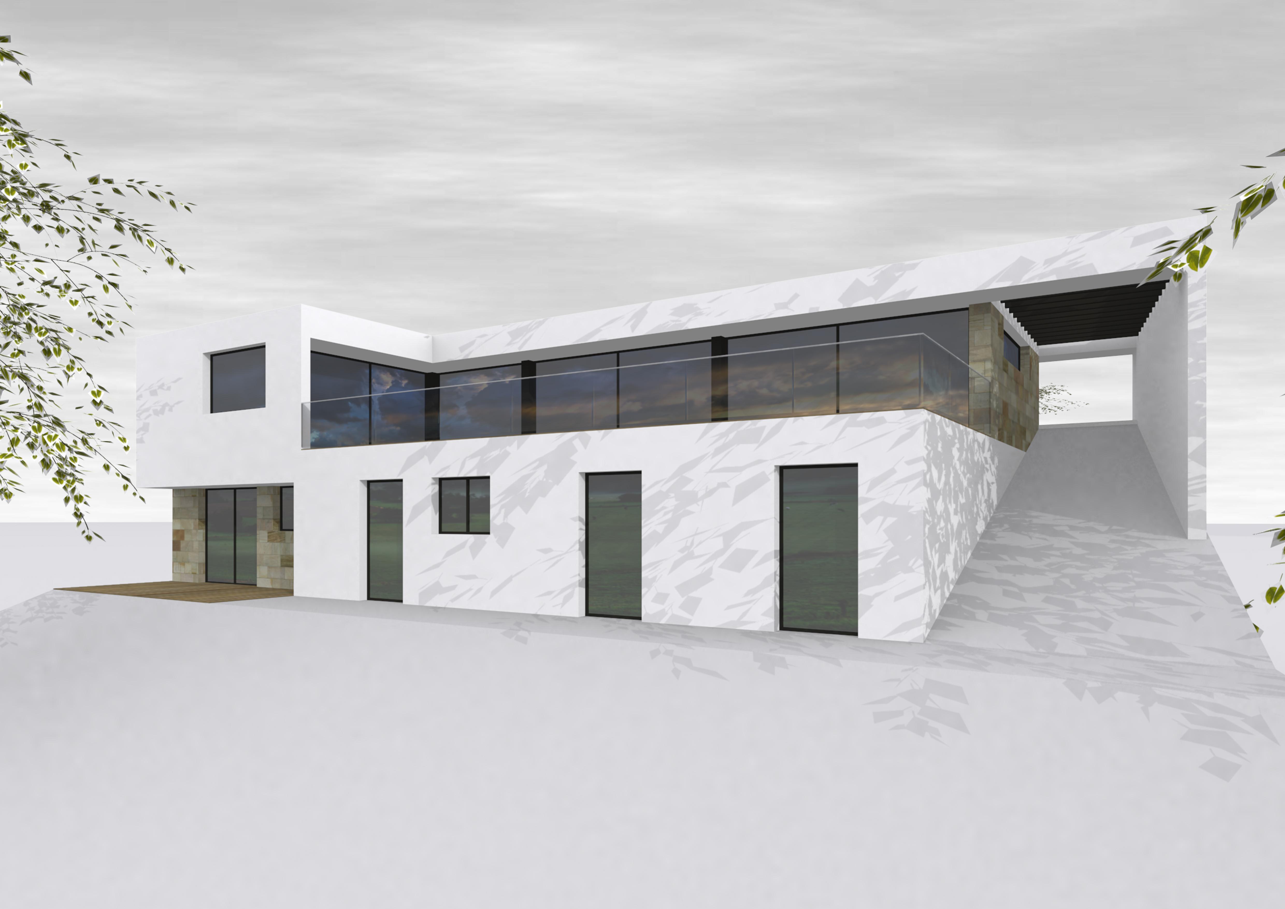 ash architectes maison individuelle bihorel
