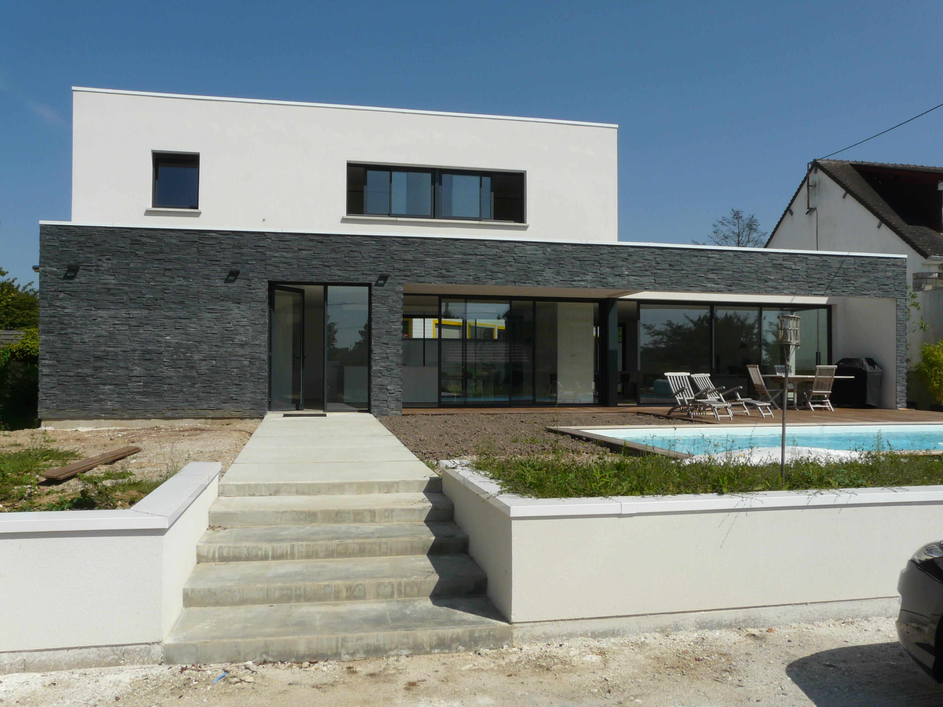 ash architectes maison individuelle bois guillaume