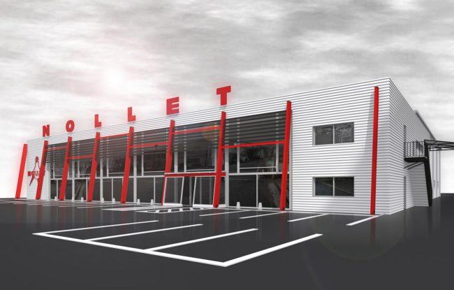 Ash architectes bâtiment industriel Rouen