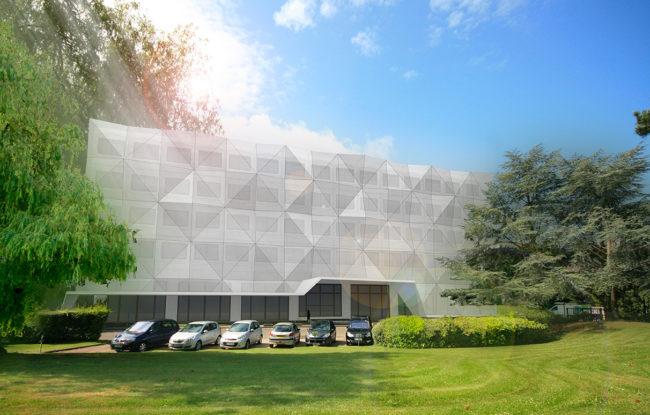 Ash architectes bureaux Rouen
