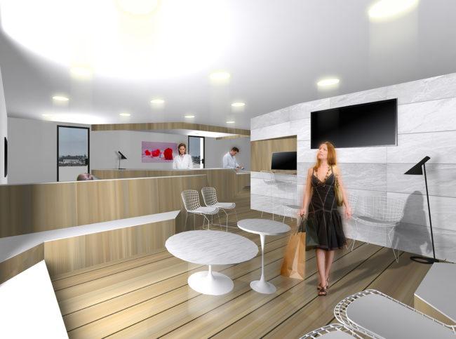 Ash architectes cabinet dentaire Rouen