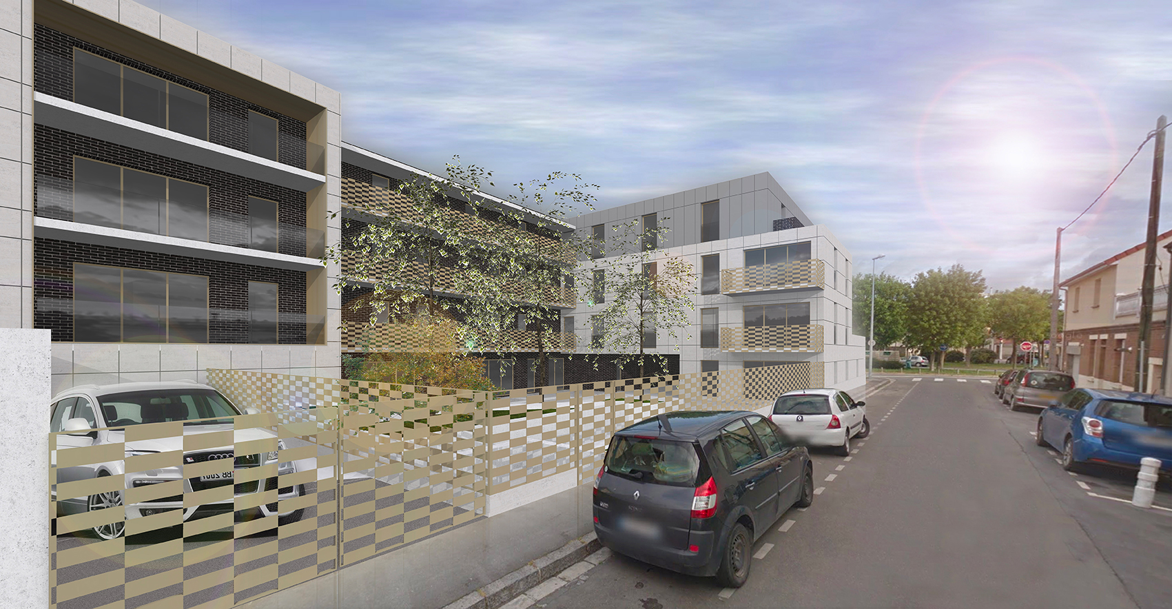 Ash architectes logements collectifs Rouen