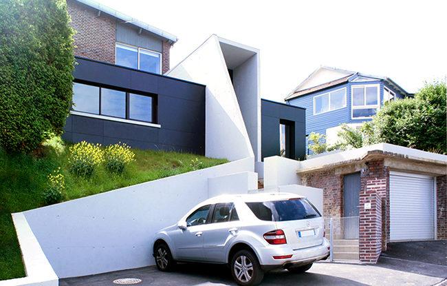 ash architectes maison individuelle