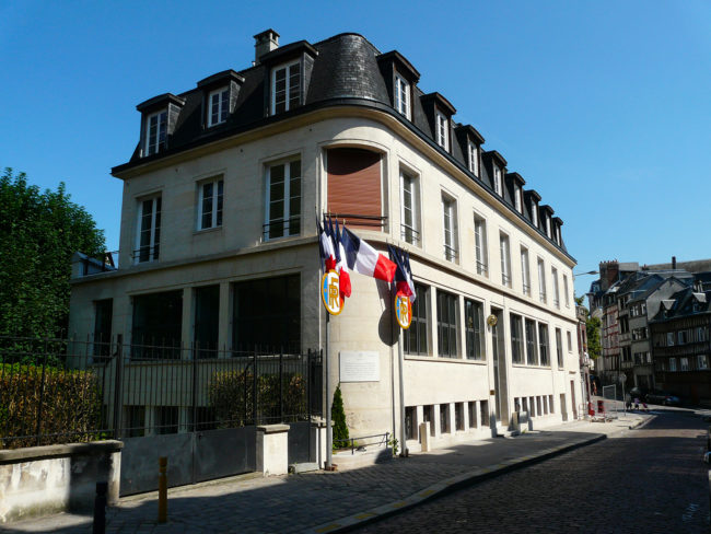 Ash architectes office notarial Rouen