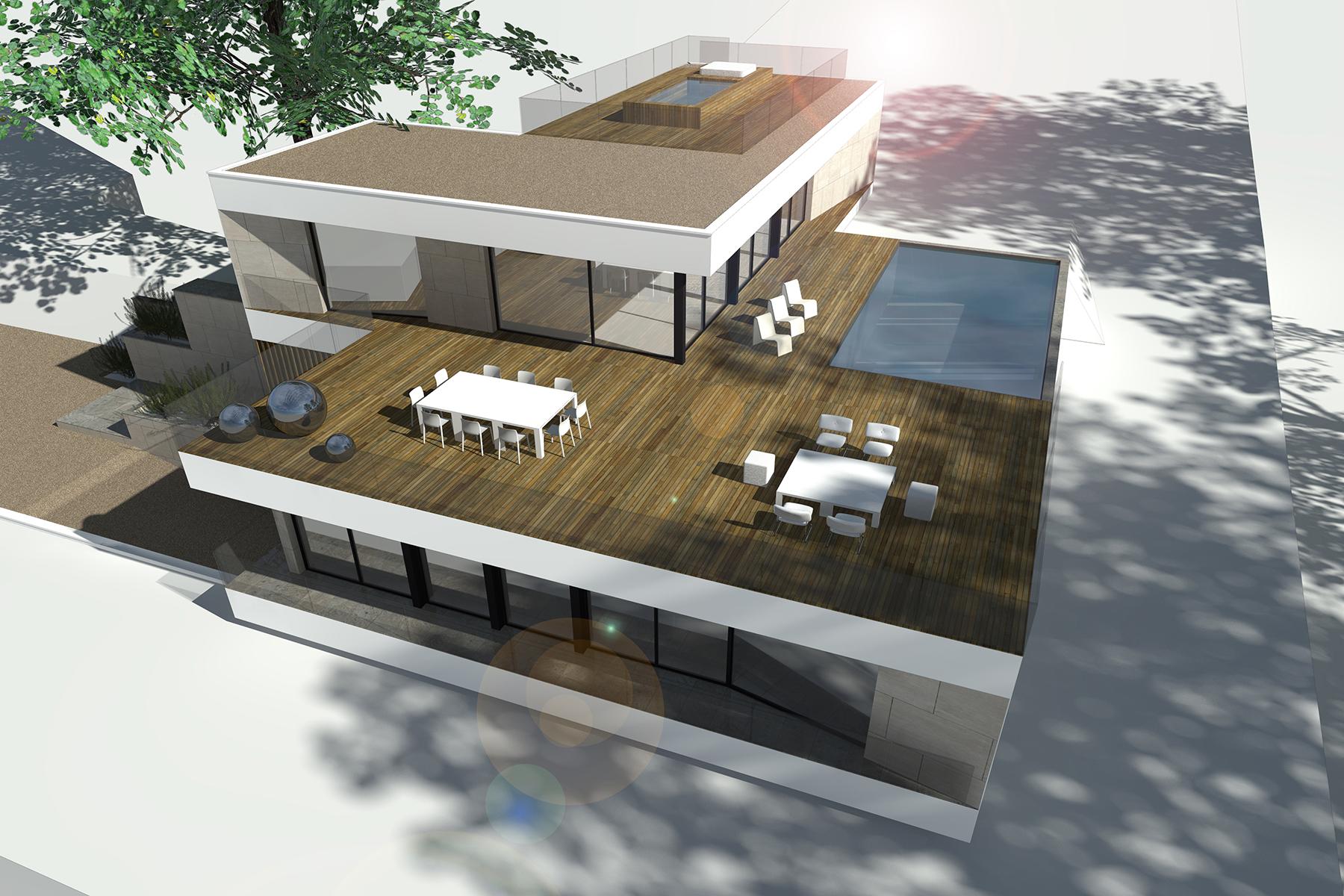 ash architectes maison individuelle Deauville
