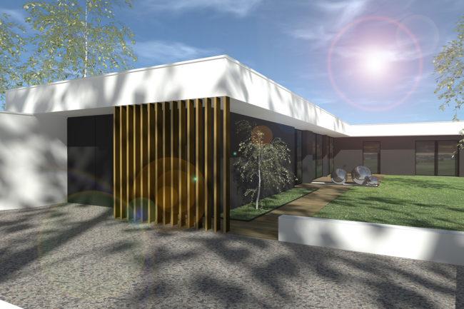 ash architectes maison individuelle Mont Saint Aignan