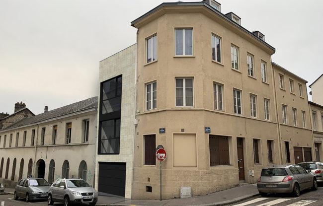 sh architectes maison individuelle Rouen
